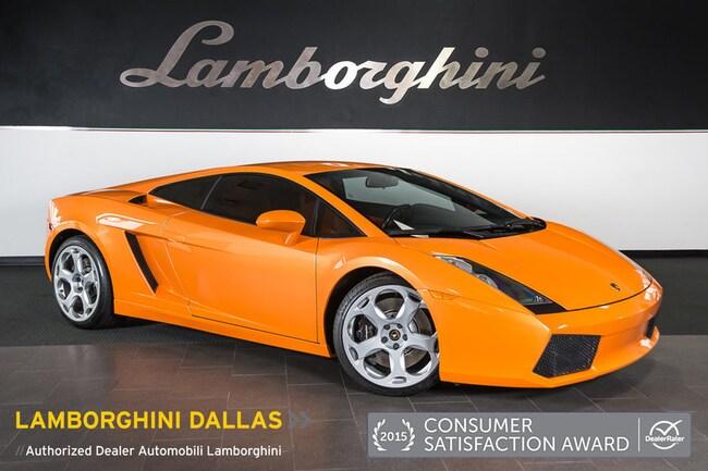 Pre-Owned 2005 Lamborghini Gallardo Coupe Dallas TX