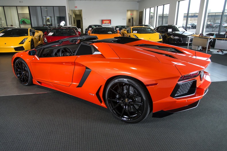 Facebook Cars For Sale Dallas Tx: Used 2015 Lamborghini Aventador For Sale Richardson,TX