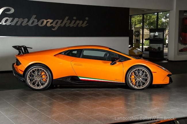used 2018 lamborghini huracan performante for sale richardson,tx