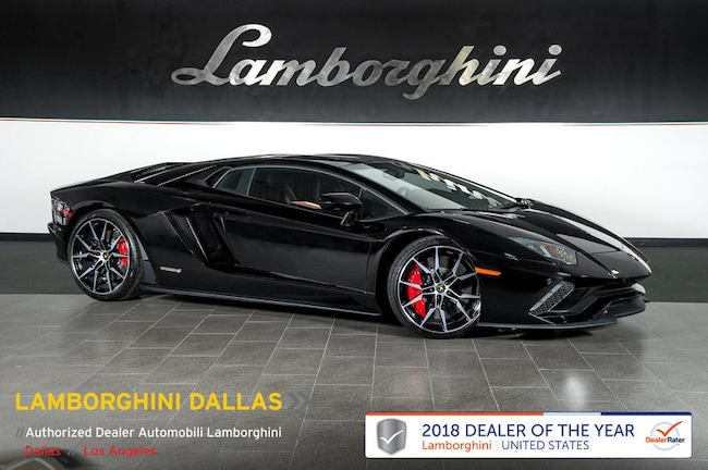 Used 2017 Lamborghini Aventador S For Sale Richardson Tx Stock