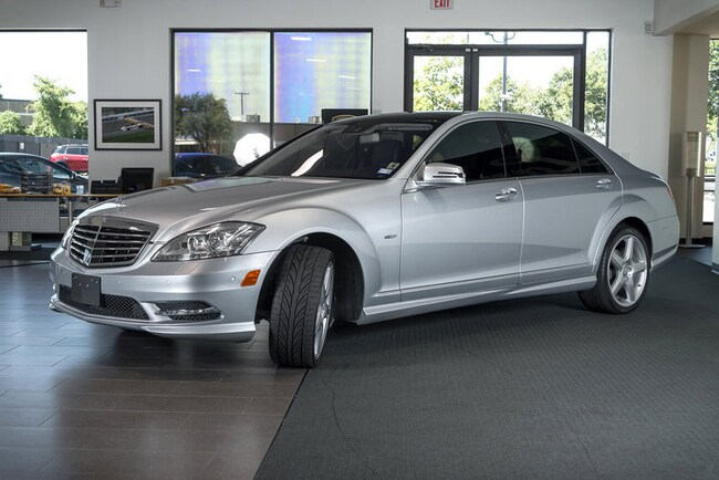 Used 2012 mercedes benz s550 for sale richardson tx for 2012 mercedes benz s550 for sale