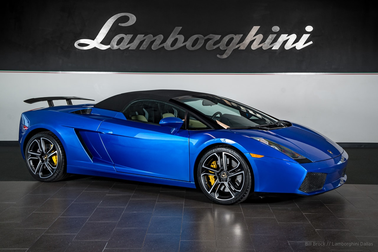Used 2007 Lamborghini Gallardo For Sale Richardson Tx