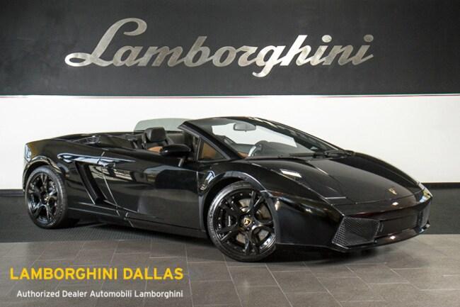 Pre-Owned 2008 Lamborghini Gallardo Spyder Dallas TX