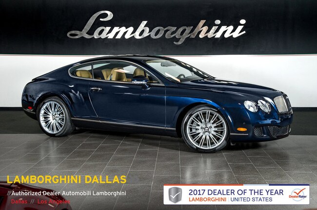 Used 2008 Bentley Continental Gt Speed For Sale Richardson Tx
