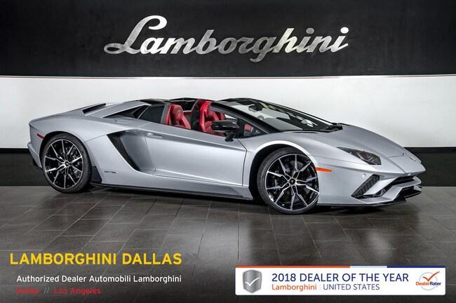 Pre-Owned 2018 Lamborghini Aventador S Roadster Dallas TX
