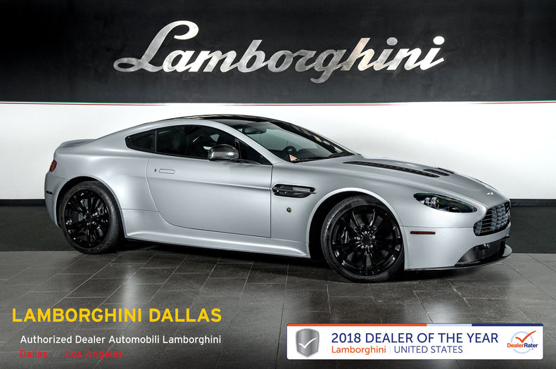 Pre Owned 2011 Aston Martin Vantage Coupe Dallas TX