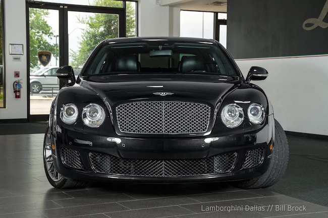 Used 2012 Bentley Continental Flying Spur Speed For Sale Richardson