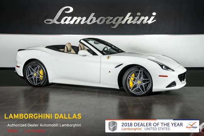 Pre-Owned 2015 Ferrari California T Convertible Dallas TX