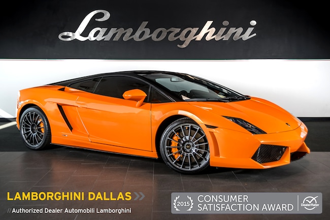 Pre-Owned 2012 Lamborghini Gallardo LP550-2 Bicolore Coupe Dallas TX