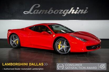 Used 2015 Ferrari 458 For Sale Richardson Tx Stock L0887 Vin Zff67nfa8f0210245