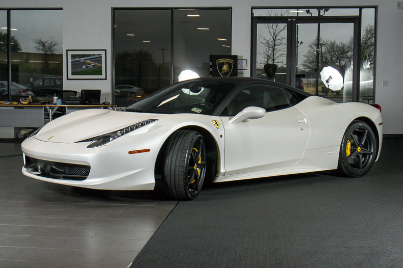 used 2010 ferrari 458 for sale richardson tx stock lt0747 vin zff67nfa7a0173987. Black Bedroom Furniture Sets. Home Design Ideas