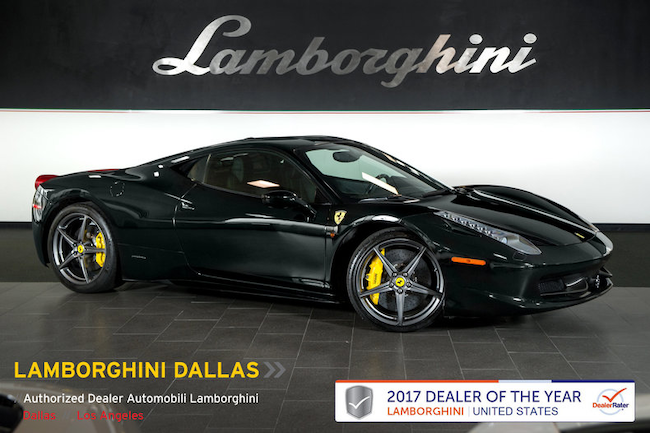 Used 2011 Ferrari 458 Italia For Sale At Boardwalk Auto