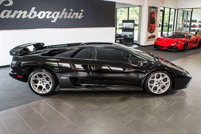 Used 2001 Lamborghini Diablo For Sale Richardson Tx Stock Lt0539