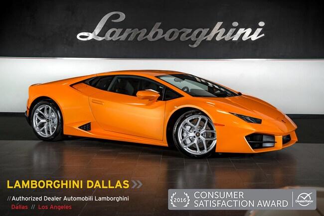 Pre-Owned 2017 Lamborghini Huracan LP580-2 Coupe Dallas TX