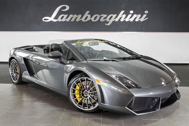 New 2013 Lamborghini Gallardo LP550-2 Spyder near Dallas, TX
