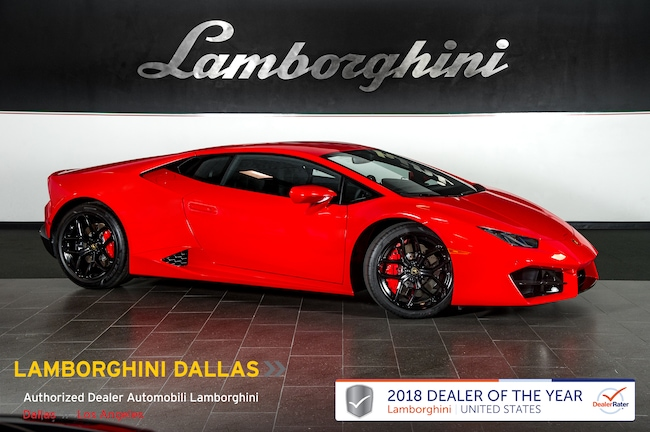 New 2019 Lamborghini Huracan LP580-2 Coupe near Dallas, TX