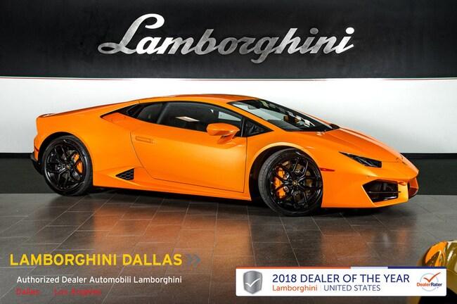 2018 Lamborghini Huracan LP580-2 Coupe