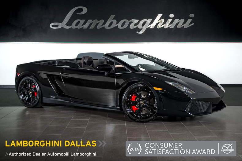 Superb Pre Owned 2013 Lamborghini Gallardo LP550 2 Spyder Dallas TX