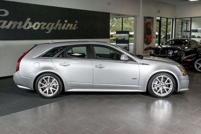 Used 2011 Cadillac Cts V Sport Wagon For Sale Richardson Tx Stock