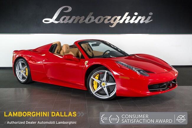 Used 2014 Ferrari 458 Italia For Sale Richardsontx Stock Lt0782