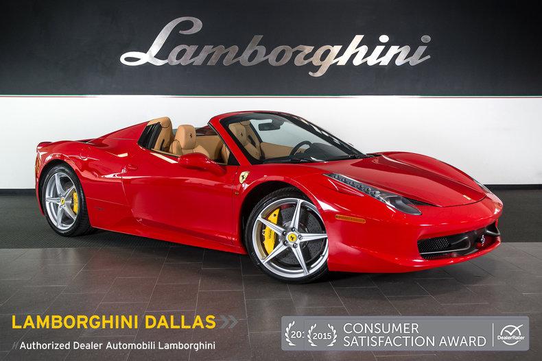 Pre Owned 2014 Ferrari 458 Italia Spider Dallas TX