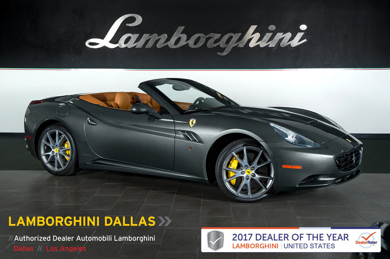 Pre Owned 2014 Ferrari California Convertible Dallas TX