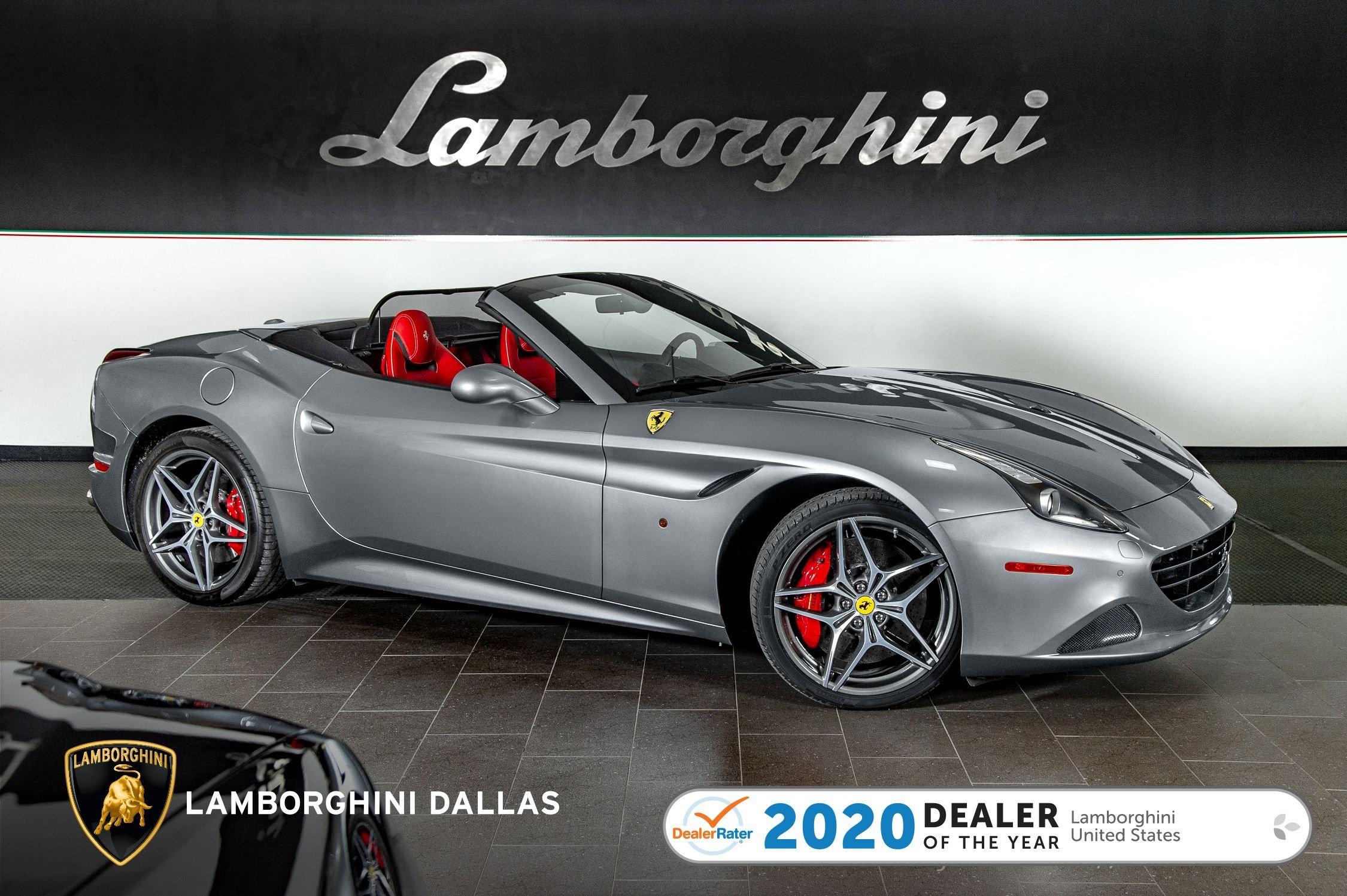 Used 2017 Ferrari California T For Sale Richardson Tx Stock 20l0252a Vin Zff77xja1h0223400