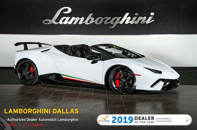 Pre-Owned 2018 Lamborghini Huracan Performante Spyder Dallas TX