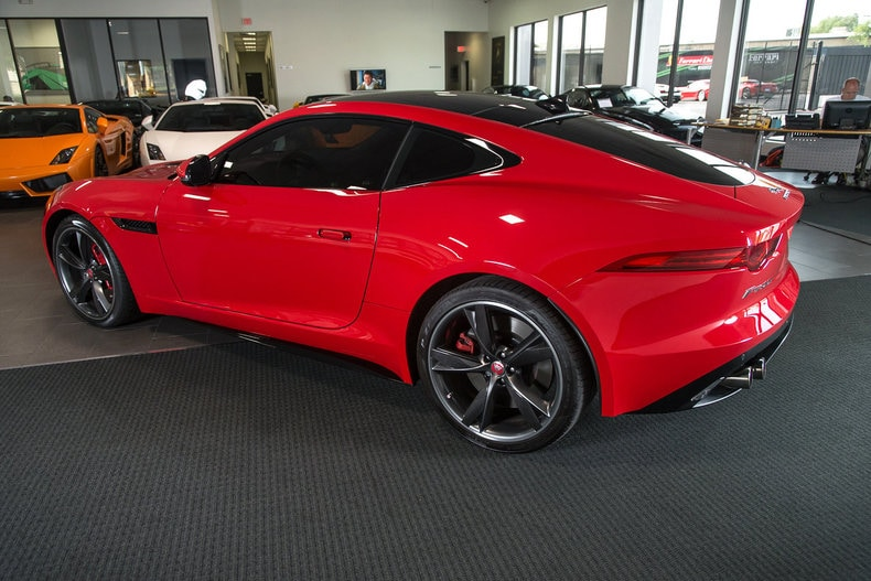 used 2015 jaguar f type r for sale richardson tx stock lt0794 vin sajwa6da4fmk15929. Black Bedroom Furniture Sets. Home Design Ideas