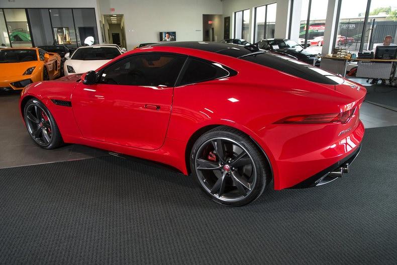 ... Pre Owned 2015 Jaguar F Type R Coupe Dallas TX ...