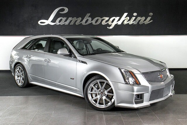 Pre Owned 2011 Cadillac CTS V Sport Wagon Wagon Dallas TX