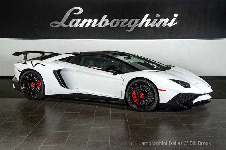 Used 2017 Lamborghini Aventador SV Roadster For Sale Richardson,TX