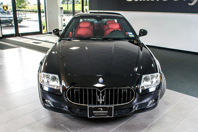 used 2011 maserati quattroporte for sale richardson tx stock lc261 vin zam39fka3b0058811. Black Bedroom Furniture Sets. Home Design Ideas