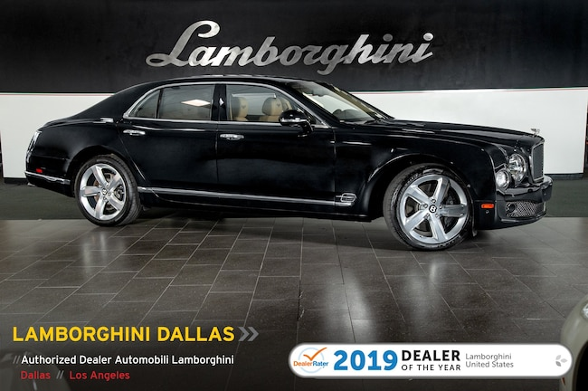 Pre-Owned 2016 Bentley Mulsanne S Sedan Dallas TX