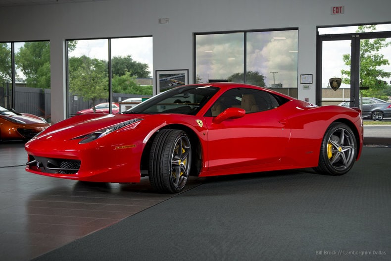 used 2015 ferrari 458 for sale richardson tx stock l0887 vin zff67nfa8f0210245. Black Bedroom Furniture Sets. Home Design Ideas