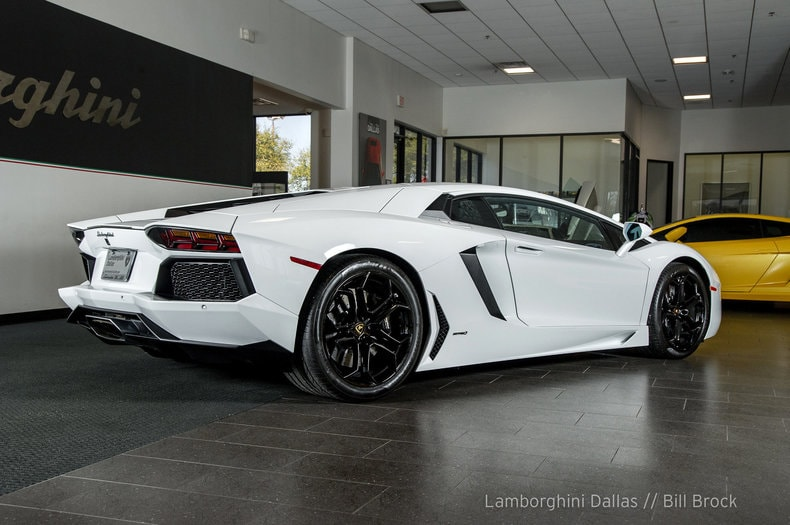 ... Pre Owned 2012 Lamborghini Aventador LP 700 4 Coupe Dallas TX ...