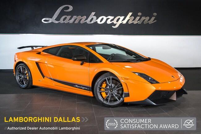 Pre-Owned 2011 Lamborghini Gallardo Superleggera Coupe Dallas TX