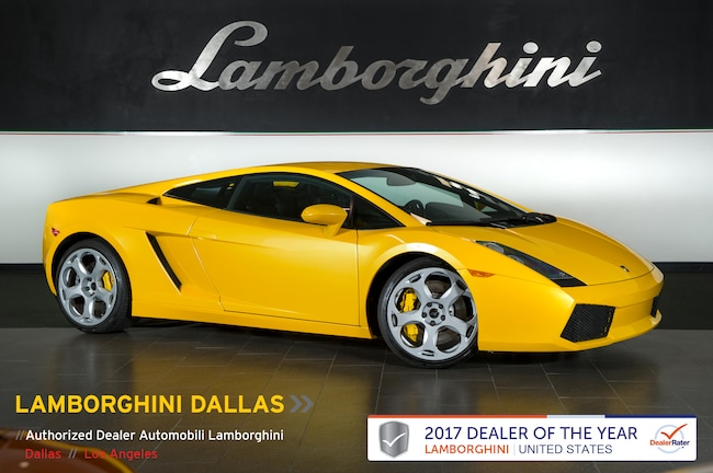 Pre-Owned 2006 Lamborghini Gallardo Coupe Dallas TX