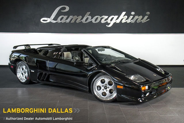 Pre Owned 1999 Lamborghini Diablo Roadster Dallas TX