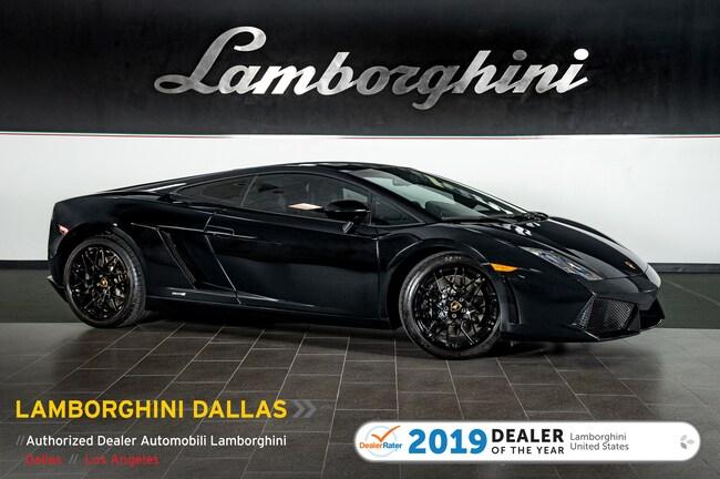 Pre-Owned 2012 Lamborghini Gallardo LP 550-2 Black Edition Coupe Dallas TX