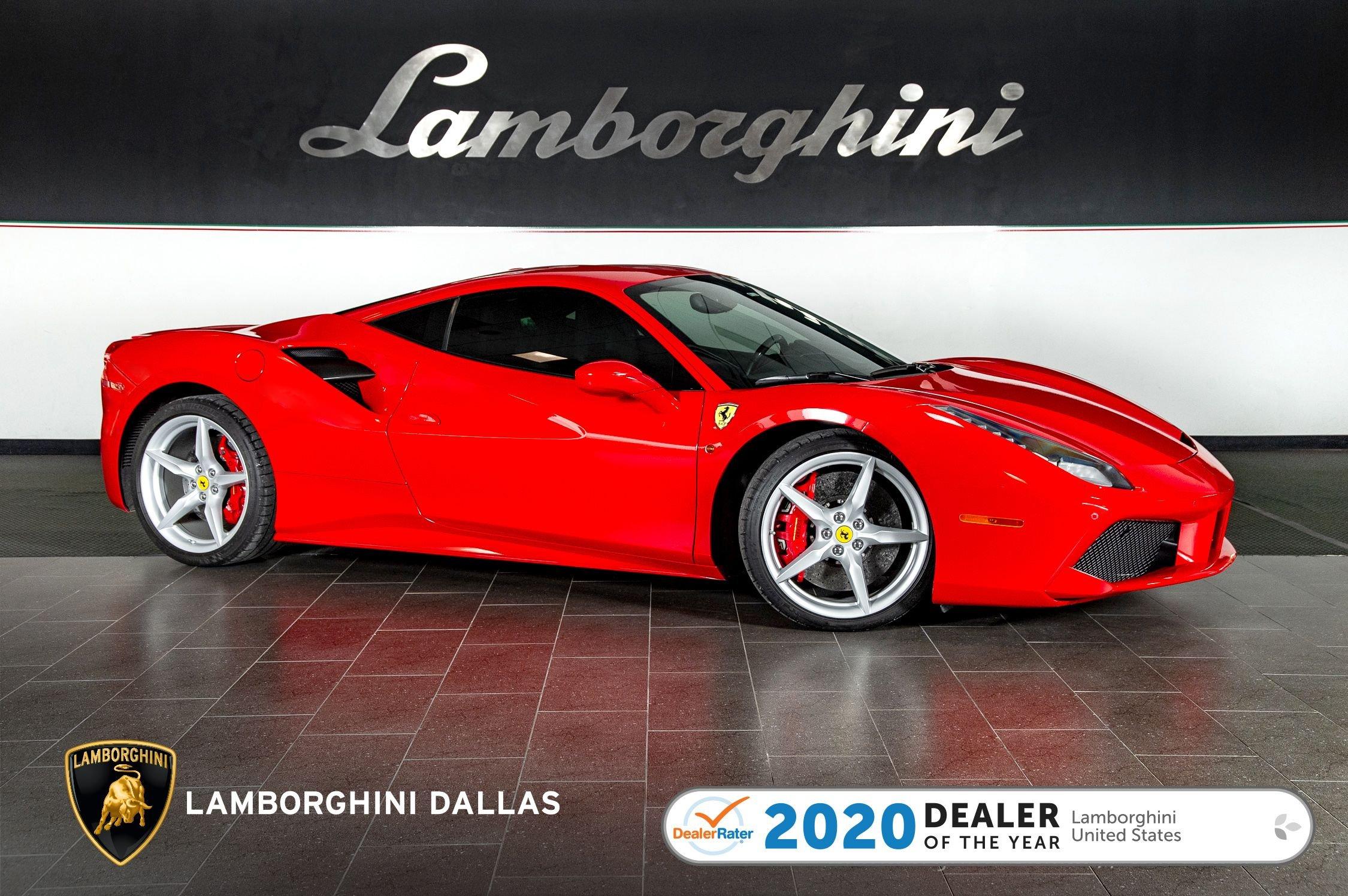 Used 2017 Ferrari 488 Gtb For Sale Richardson Tx Stock 20l0237a Vin Zff79ala6h0220819