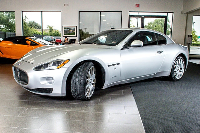 used 2008 maserati gran turismo for sale richardson tx stock lt0570 vin zamgj45a980042386. Black Bedroom Furniture Sets. Home Design Ideas