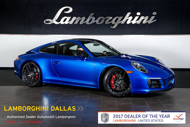 Used 2017 Porsche 911 Carrera Gts For Sale Richardson Tx Stock