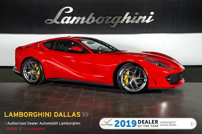 Pre-Owned 2018 Ferrari 812 Superfast Coupe Dallas TX