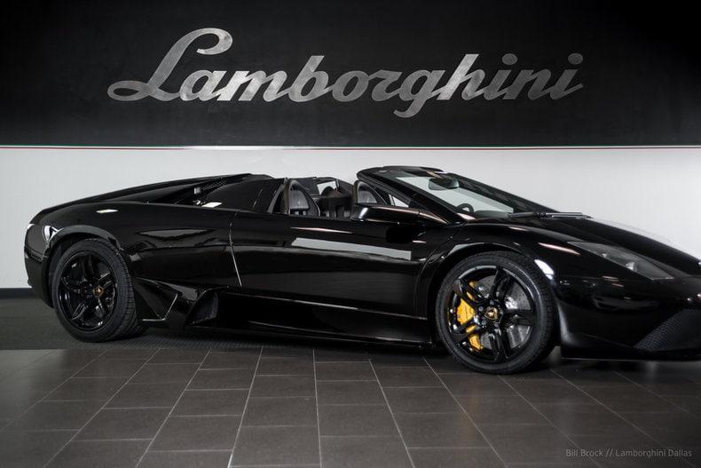 ... Pre Owned 2009 Lamborghini Murcielago LP640 Roadster Dallas TX