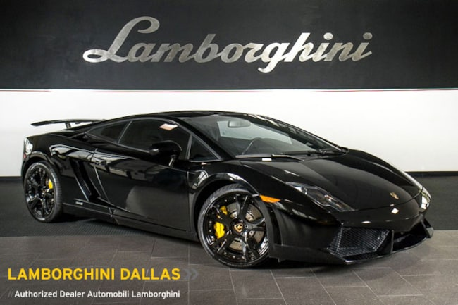 Pre-Owned 2012 Lamborghini Gallardo LP 550-2 Coupe Dallas TX