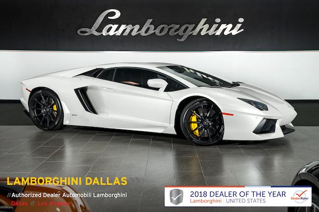 Certified Pre-Owned 2013 Lamborghini Aventador LP700-4 Coupe For Sale Dallas TX