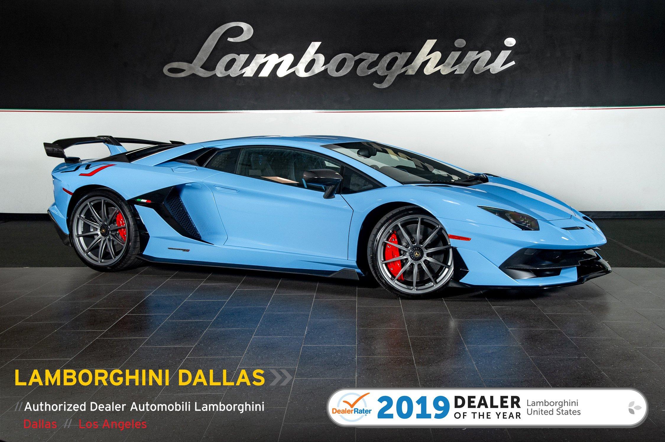 New 2019 Lamborghini Aventador Svj For Sale Richardson Tx Lamborghini Dallas Stock 19l0195 Vin Zhwum6zd8kla08700