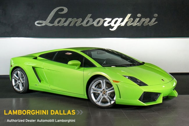 Pre-Owned 2009 Lamborghini Gallardo LP 560-4 Coupe Dallas TX