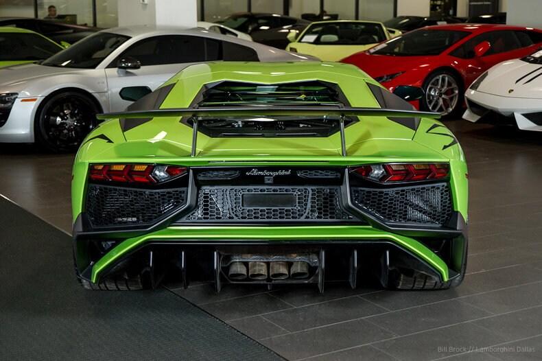 ... Pre Owned 2017 Lamborghini Aventador SV Coupe Dallas TX ...
